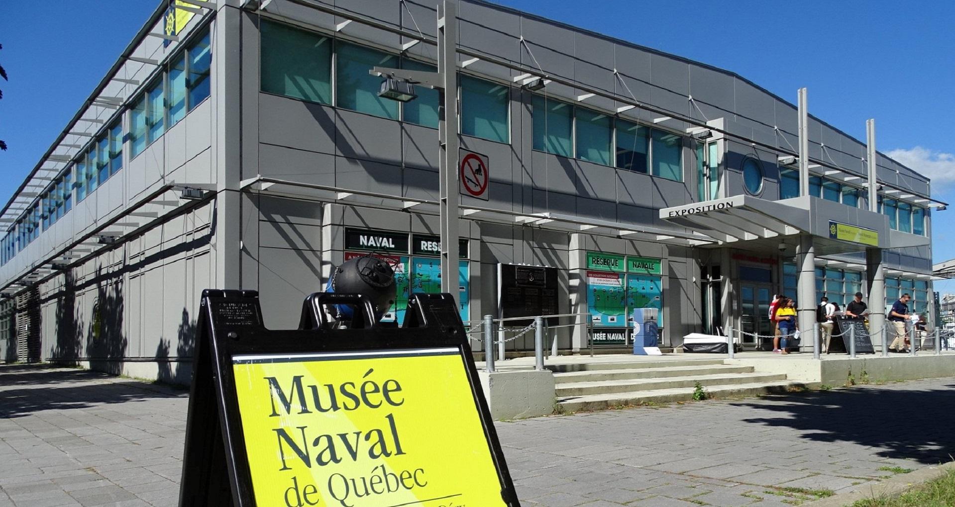 """O """"Musée Naval de Québec"""""""