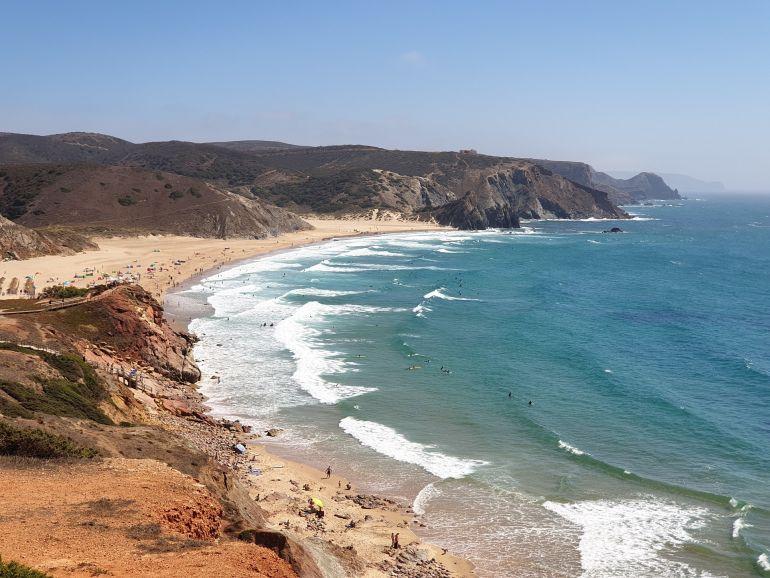 Os biopolímeros podem ser extraídos das algas abundantes no litoral nacional (foto João Gonçalves)