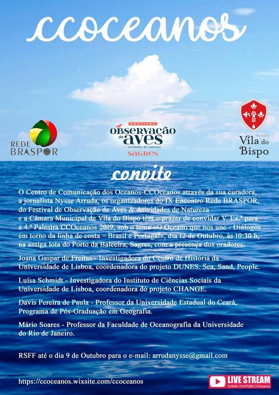 O Oceano que nos une: Gestão costeira em Portugal e no Brasil  -  IX Encontro Rede BRASPOR 63