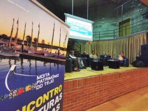 O primeiro dia do Encontro terminou com um debate com a participação do Professor Carvalho Rodrigues