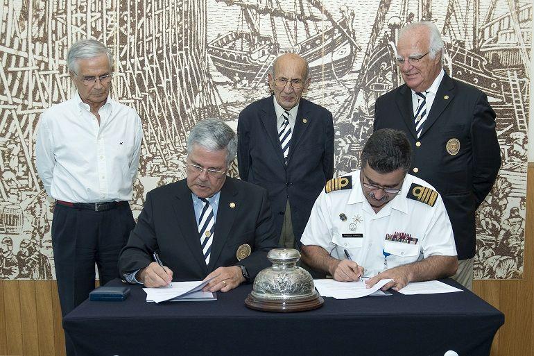 Cerimónia de assinatura do Protocolo da nova sede da Confraria Marítima de Portugal