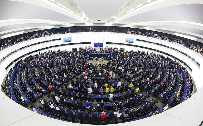 O Parlamento Europeu, aqui se constrói a ideia da Europa
