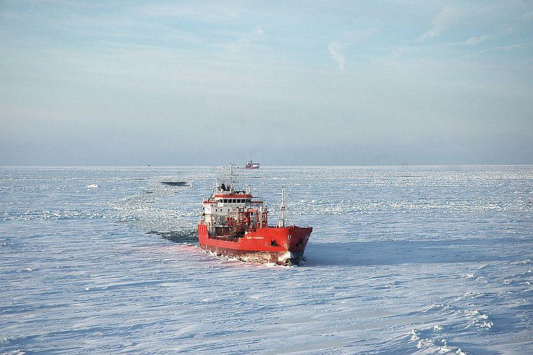 O degelo está a facilitar a devassa do Árctico (foto de Tuomas Romu)