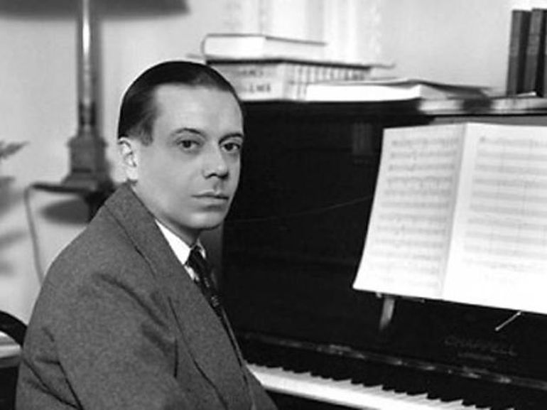 Cole Porter à data em que compôs Night and Day, para a peça Gay Divorcee (Alegre Divorciado), canção interpretada por Fred Astaire.