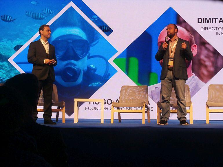 Hugo de Almeida e Dimitar Vlahov (imagem Reinaldo Delgado)