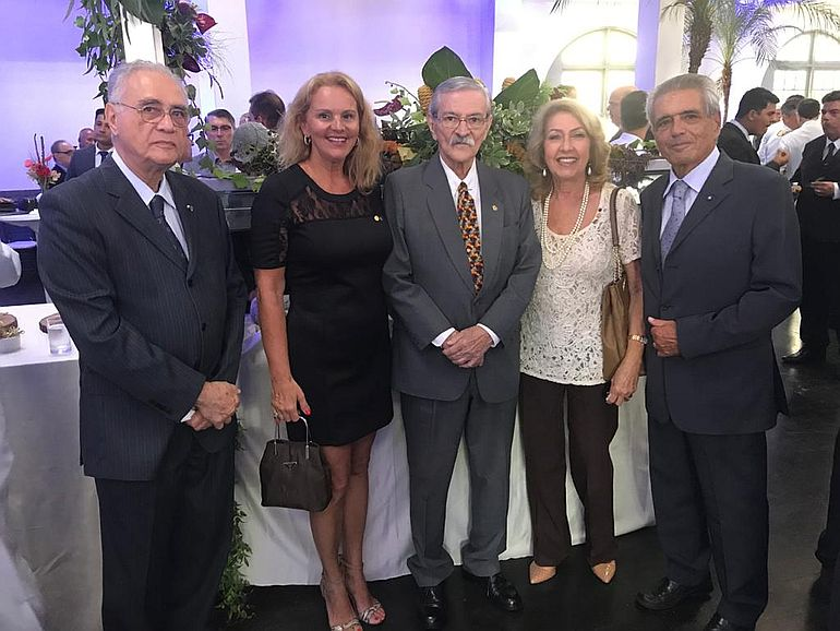 Dr Pedro Ernesto Mariano de Azevedo - Presidente da Liga da Defesa Nacional, E. Meireles,