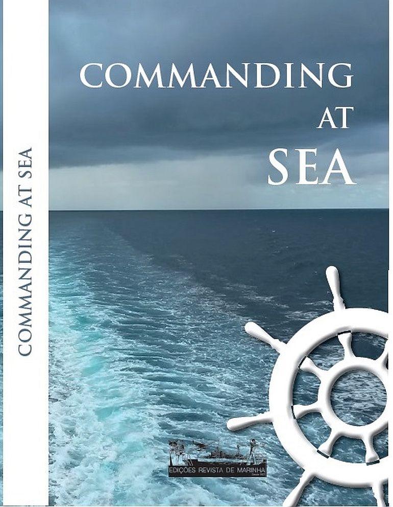 A capa da nova edição em língua Inglesa do livro Commanding at Sea (foto ENN)