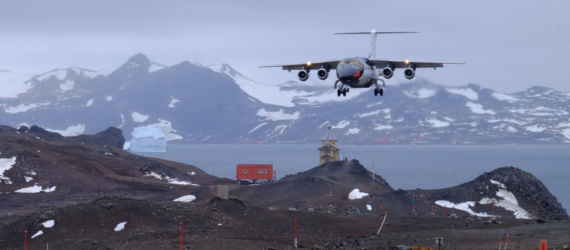 Antártida – mais um voo Português