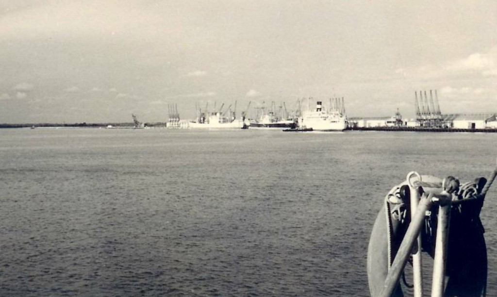 O porto da Beira (imagem de Fernando Silva Morgado, blog delagoabayworld)