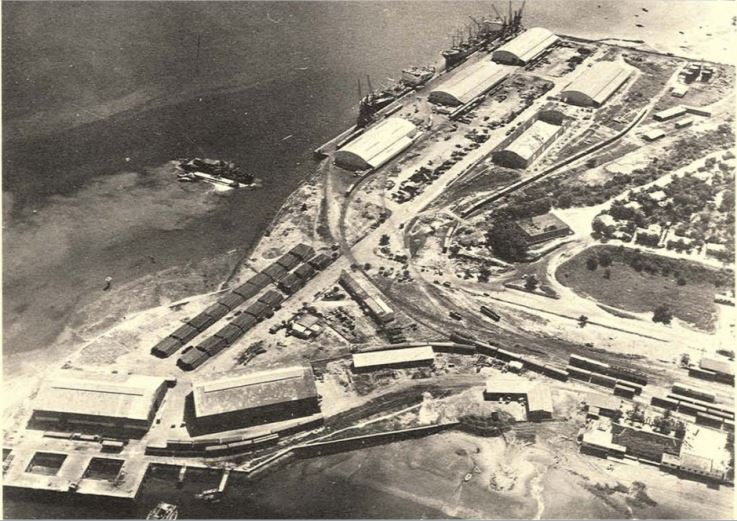 O porto de Nacala nos anos sessenta