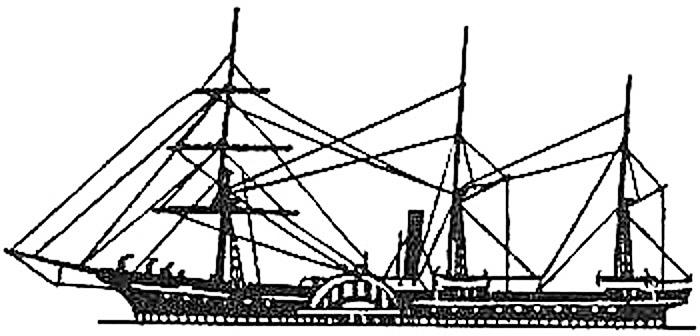 O único desenho conhecido do PS TIBER (provavelmente publicado nalgum anúncio de jornal da época)