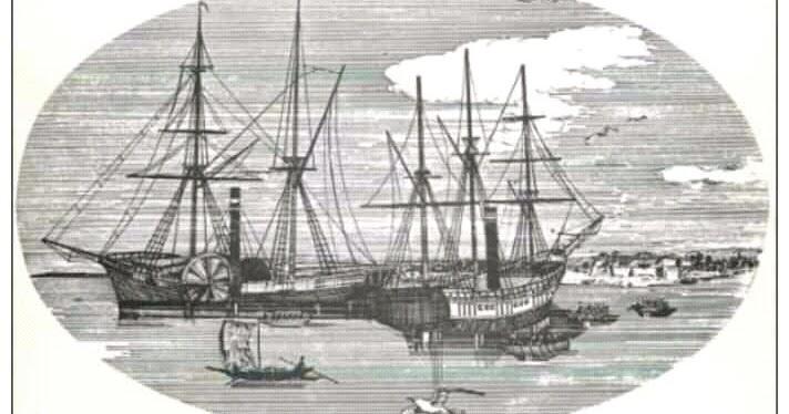 HMS BLOODHOUND e o HMS TEASER (imagem via historicalupdate.blogspot.com)