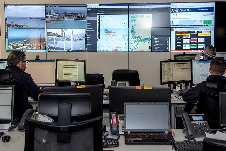 O PNSC encontra-se instalado no Comando Naval, no COMAR, onde funciona também o MRCC Lisboa (imagem Marinha Portuguesa)
