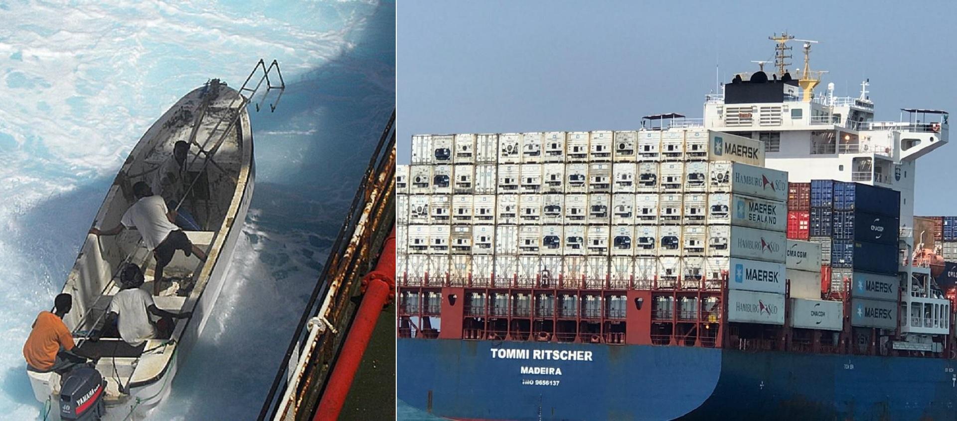 Piratas atacam navios de bandeira portuguesa