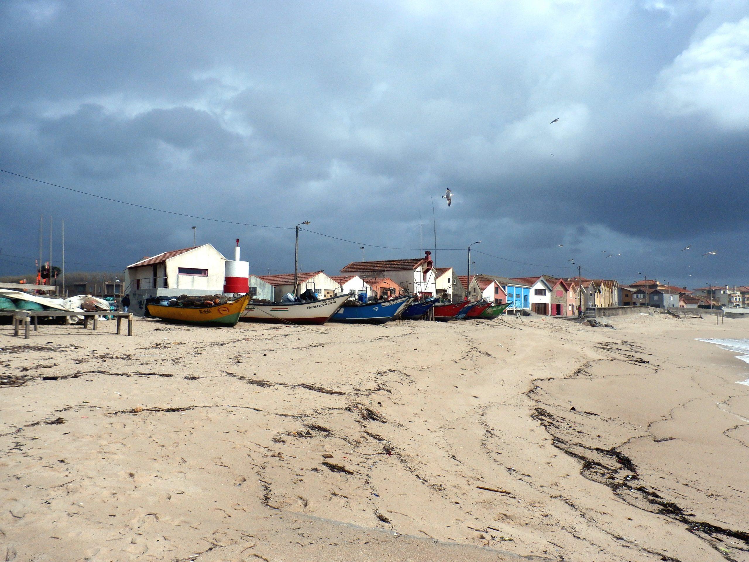 Praia de Vila Chã nos dias de hoje (imagem Reinaldo Delgado)