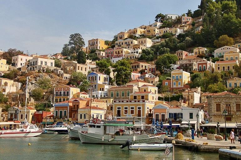 Symi, Grécia (Imagem de Manfred Richter por Pixabay)
