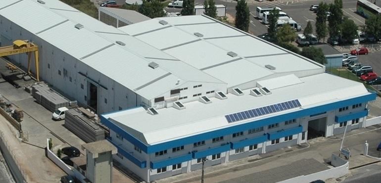 As instalações da Lindley em Alcabideche (imagem Grupo Lindley)