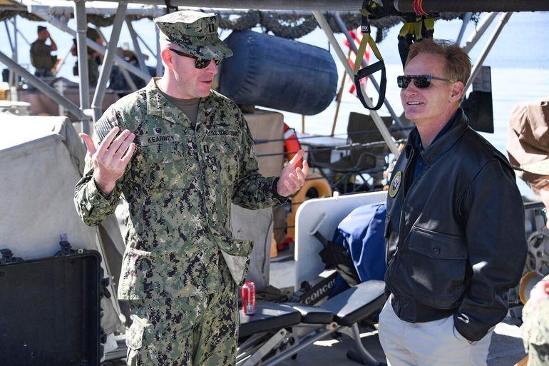 O ex-Secretário da Marinha, Thomas Modley
