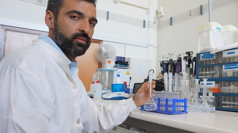 O coordenador do projeto, Dr. Tiago Verdelhos, é Investigador de pós-doutoramento no Laboratório MAREFOZ (imagem MARE - UC)