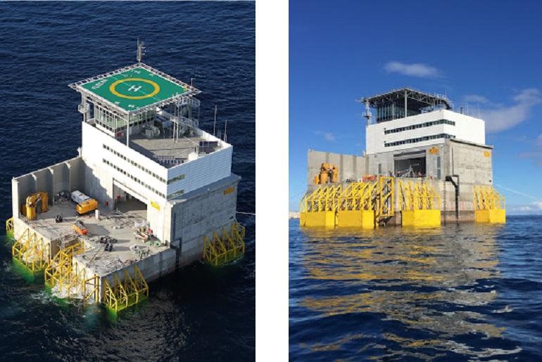 O laboratório offshore da PLOCAN, está assente no fundo, a uma cota de 30,5 m de profundidade, numa posição a cerca de 0.5 milhas náuticas da costa noroeste da ilha de Gran Canária. (imagens PLOCAN)