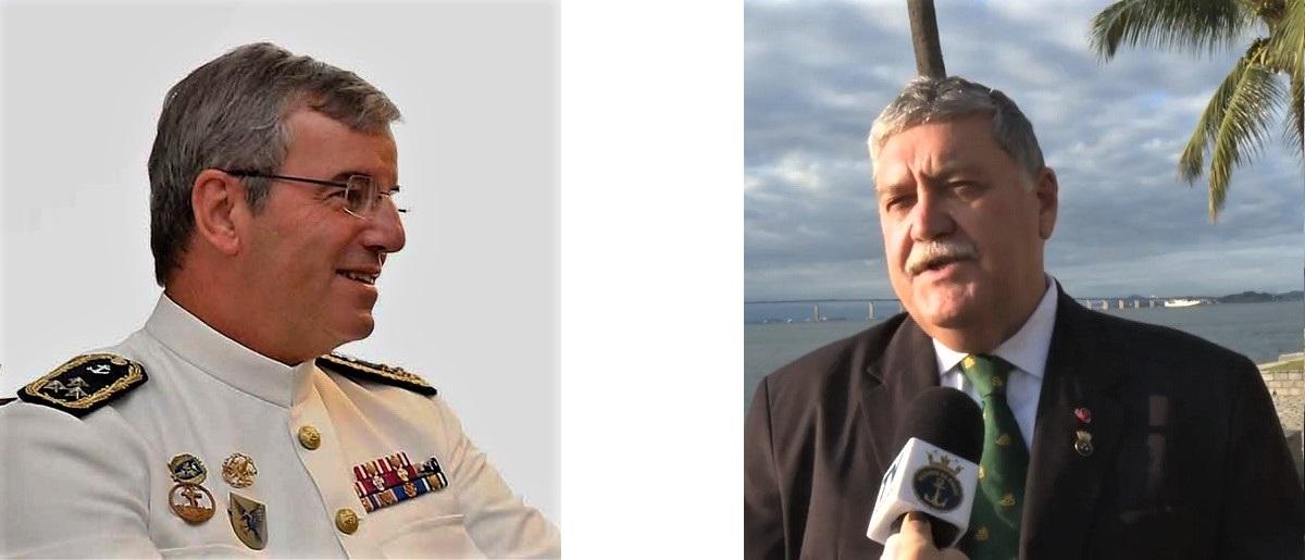 A obra é prefaciada pelos Vice-almirantes Augusto Mourão Ezequiel e José Carlos Mathias, respetivamente das Marinhas Portuguesa e do Brasil.