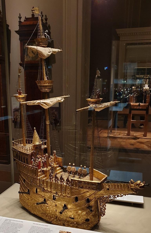 O Nef tal como está exposto no Museu Britânico, em Londres (imagem João Gonçalves)
