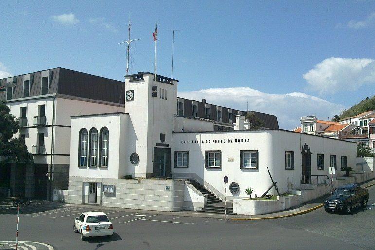 A Capitania de Porto, onde há muitos, muitos anos atrás o avô vivera (imagem João gonçalves)