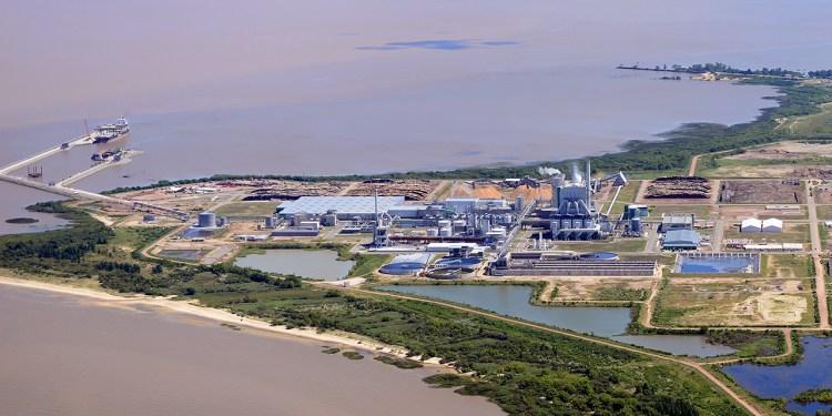 O complexo Montes del Plata, no Rio da Prata, no Uruguay (imagem Montes del Plata)