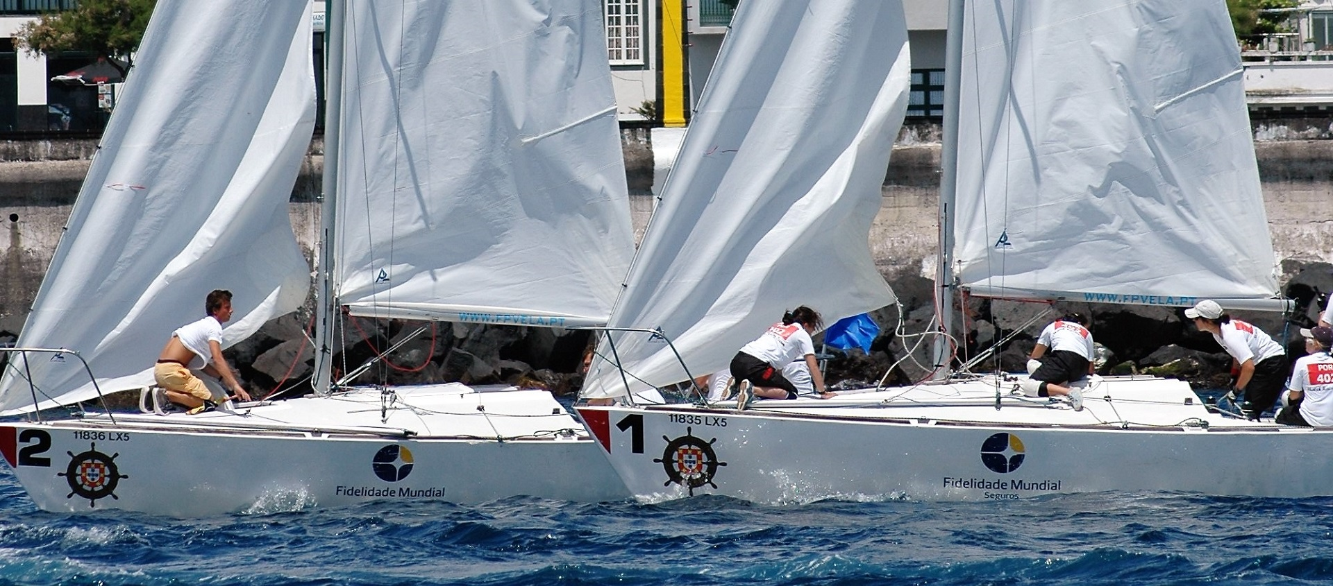 O Match Racing em Portugal – apogeu (2ª parte)