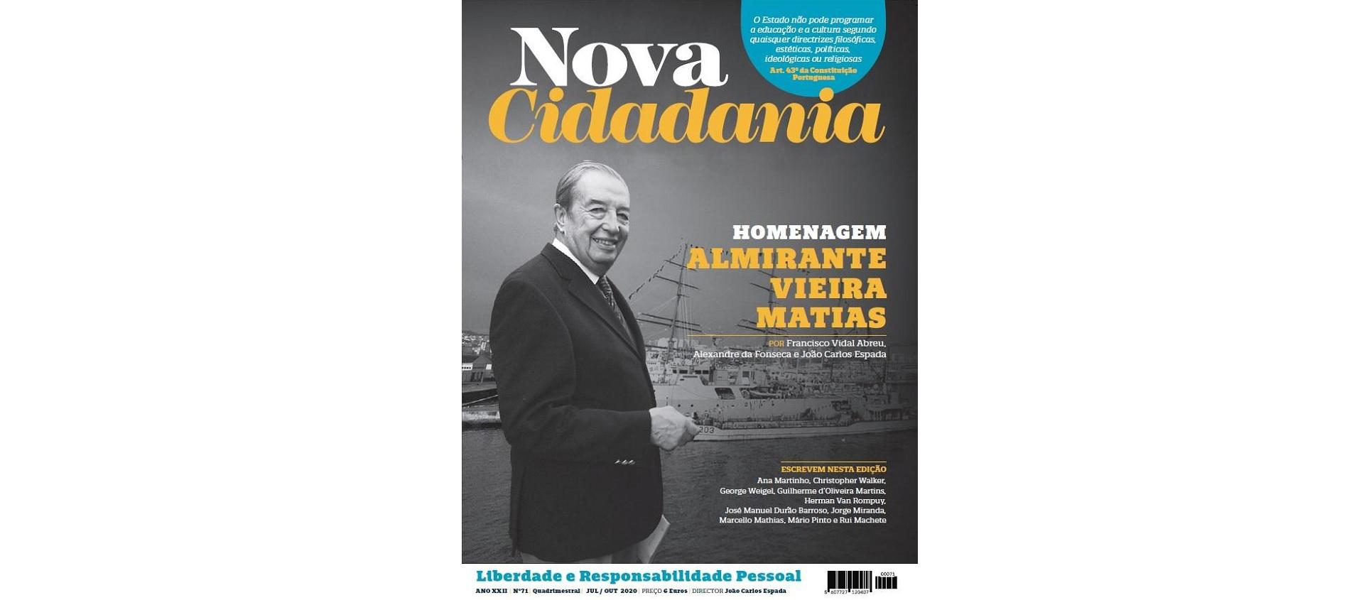 A revista Nova Cidadania