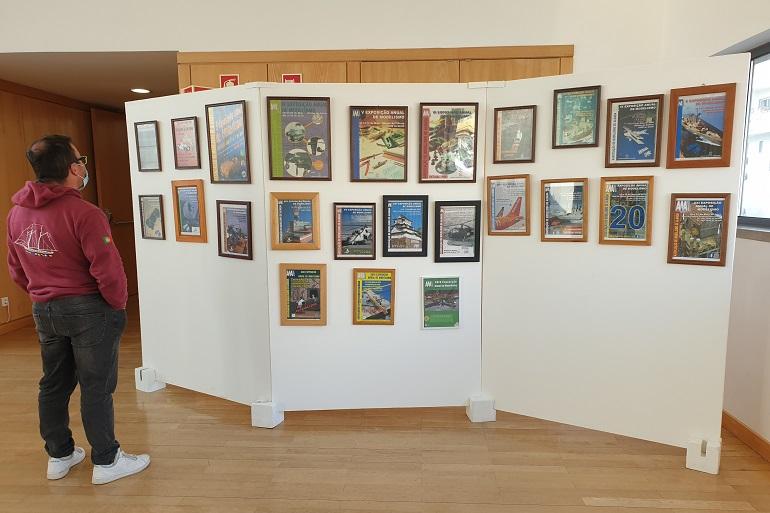 No recinto estava patente uma exposição dos cartazes das anteriores edições. (imagem João Gonçalves)