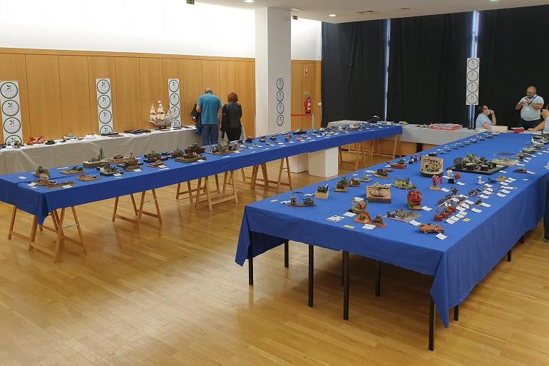 Panorama geral da sala principal de exposição (imagem João Gonçalves)