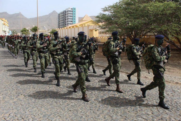 O pelotão de abordagem dos Fuzileiros Navais de Cabo Verde (imagem Associação de FZ de Cabo Verde)