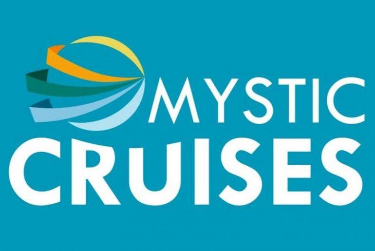 O logo da Mystic Cruises, empresa de cruzeiros da MysticInvest Holding do empresário Mário Ferreira