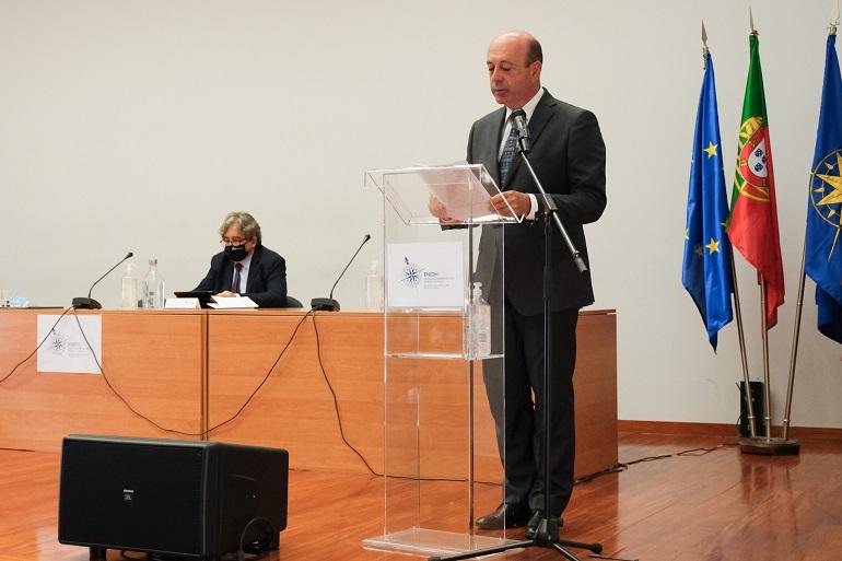Prof. Doutor Luís Filipe Baptista, Presidente daENIDH (imagem Carmo Montanha, cedida por GCMunicípio de Oeiras)