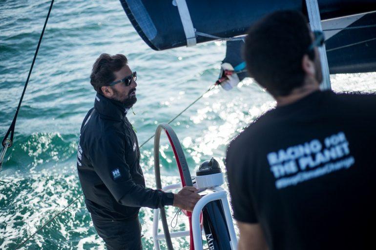 Yoann Richomme é o skipper ao leme do RACING FOR THE PLANET (imagem Mirpuri Foundation)
