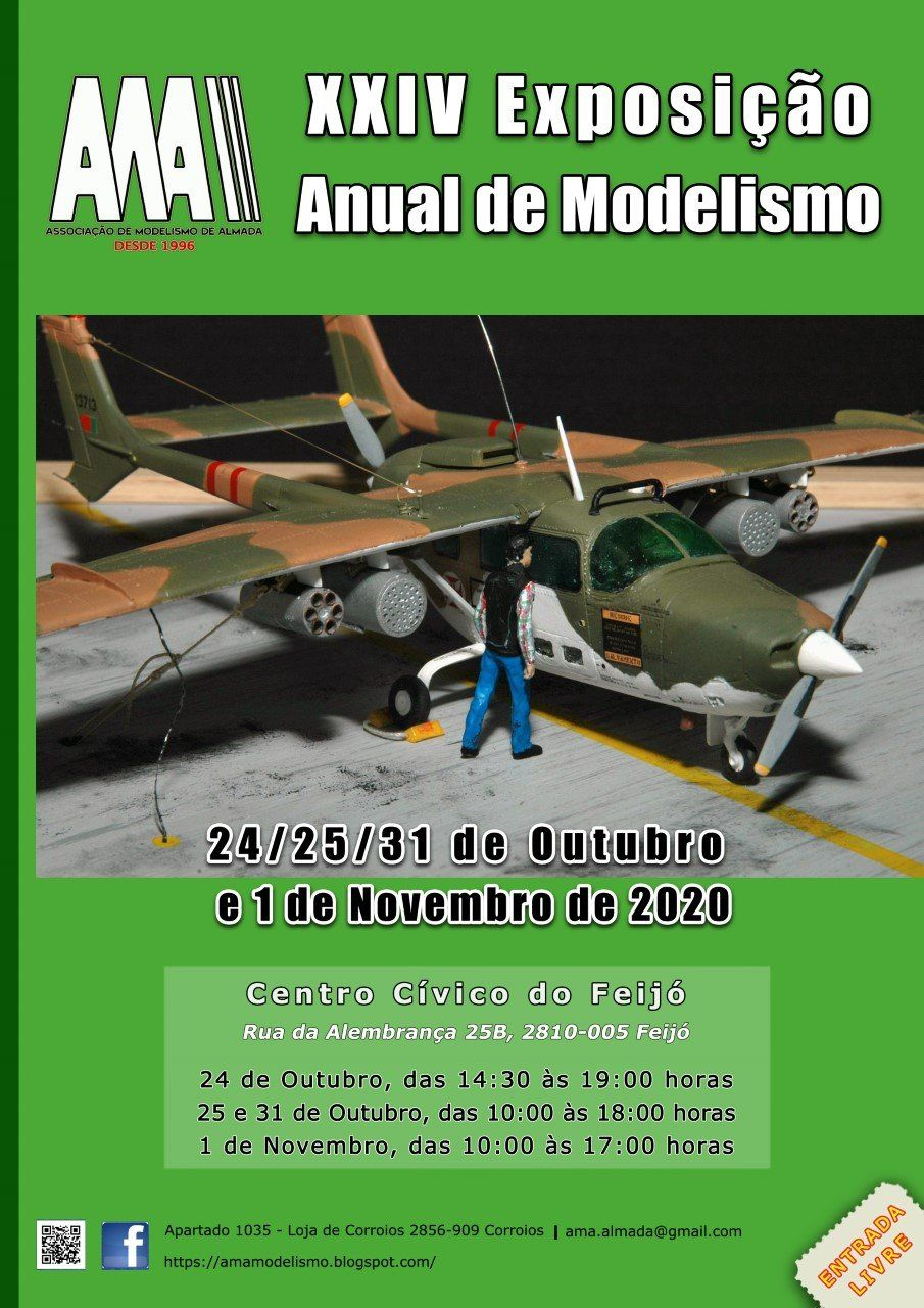 24ª Expo Anual AMA: 24 e 25 outubro 20