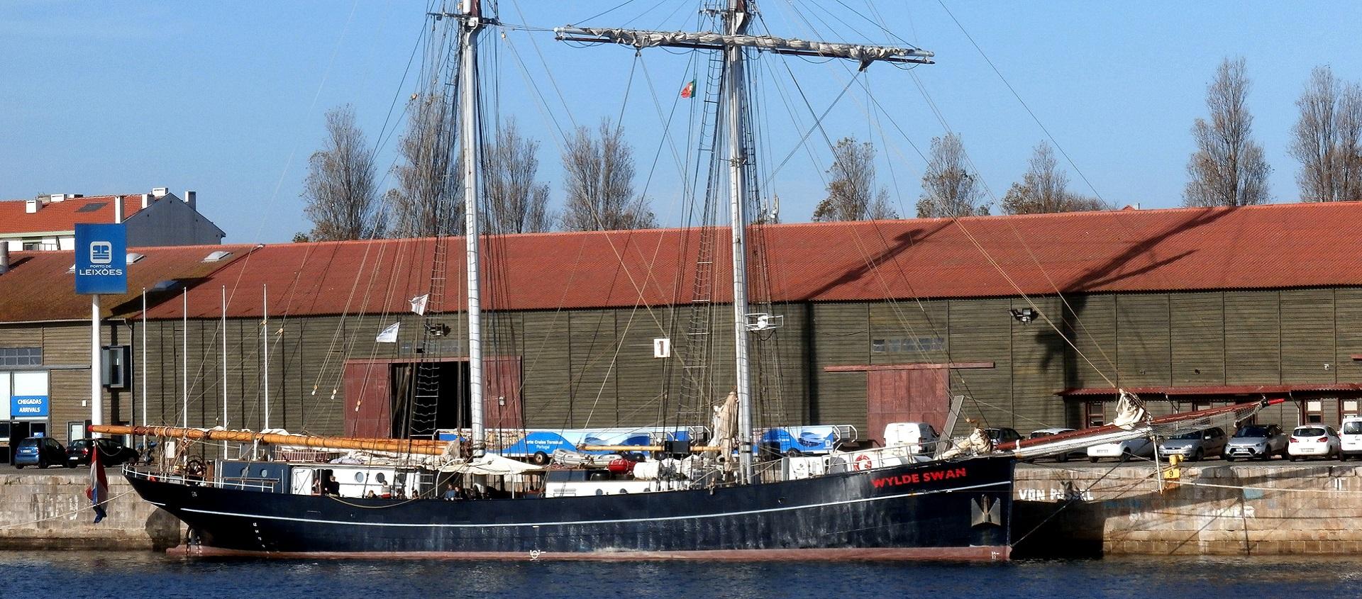 Um veleiro centenário em Leixões