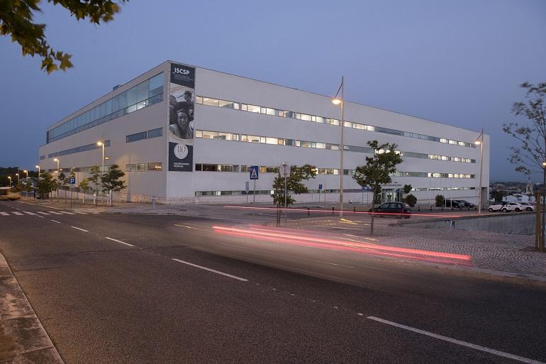 O edifício do ISCSP, no Campus Universitário do Alto da Ajuda (imagem ISCSP)