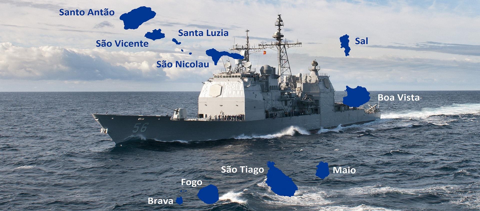 A missão secreta do USS SAN JACINTO em Cabo Verde
