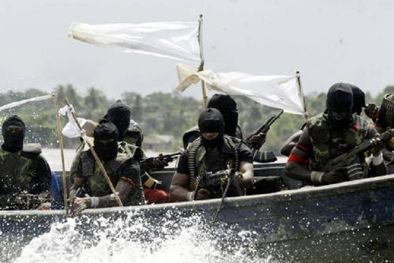 Piratas do Delta do Niger