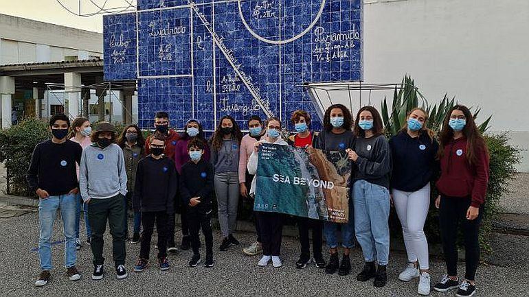 Jovens participantes do Agrupamento de escolas da Vialonga (cortesia Prada e UNESCO)