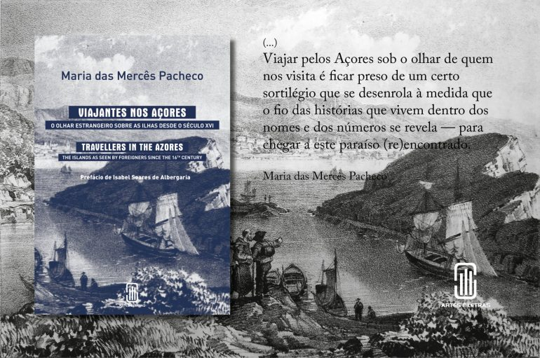 Cartaz Viajantes nos Açores (imagem Artes e Letras)