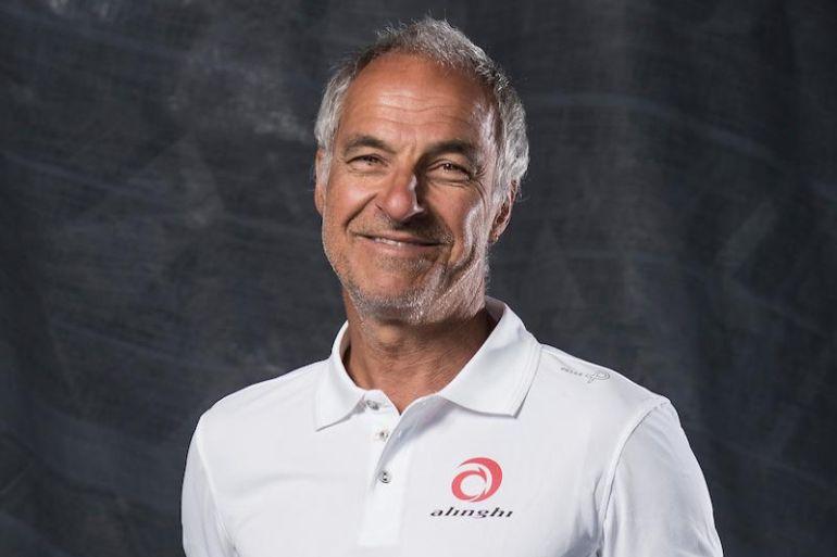 João Cabeçadas o velejador português que hoje é elemento chave na logística técnica da equipa suiça Alinghi (imagem Alinghi Team)