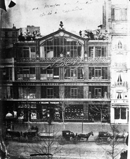 O Estúdio Nadar, no Boulevard des Capucines, 35, Paris, 1860