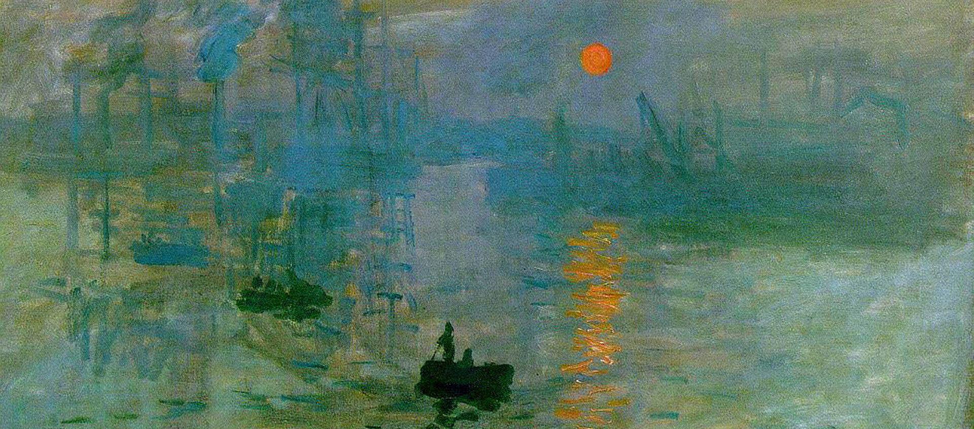 O Impressionismo nasceu no mar