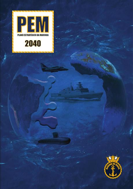 Capa do documento PEM 2040 (imagem MB)