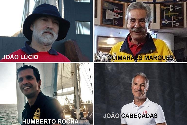 João Lúcio, João Guimarães Marques, o Comandante Humberto Rocha e Jão Cabeçadas foram oradores convidados da Academia