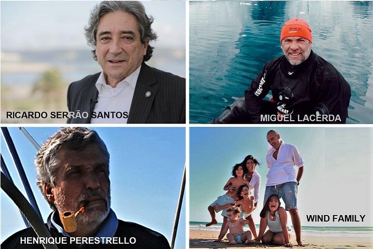 O Ministro do Mar, Miguel Lacerda, Henrique Perestrello de Abreu e a Wind Family, foram oradores convidados da Academia