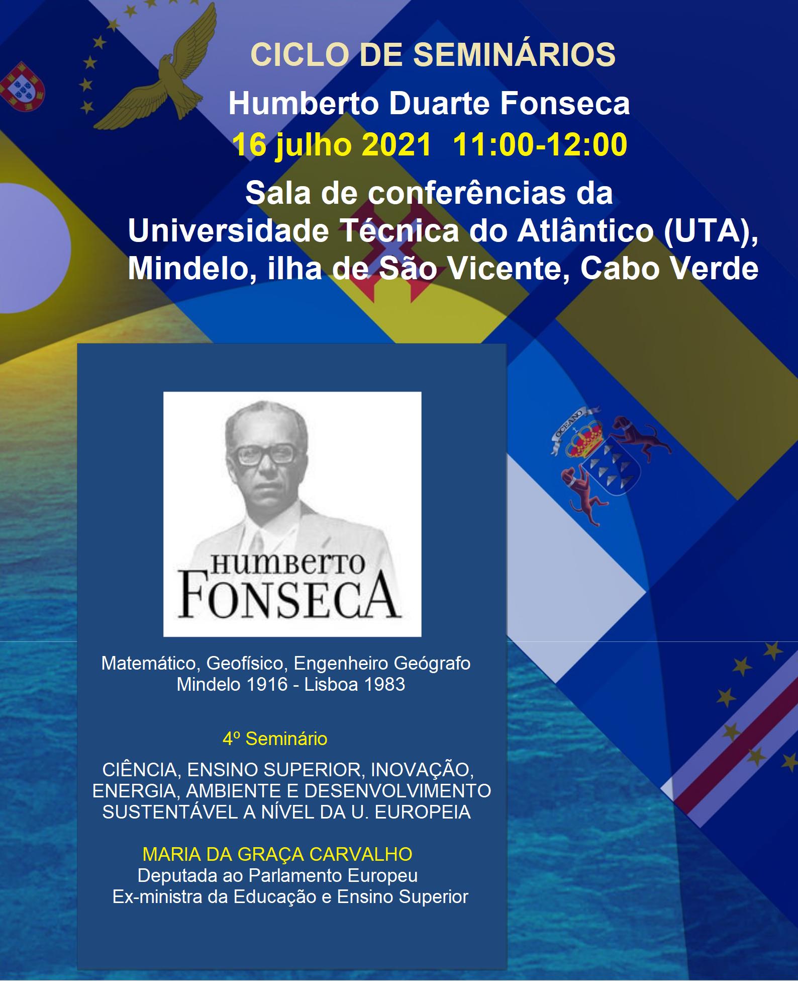 uma figura de referência e um pioneiro da ciência das ilhas da Macaronésia, Humberto Duarte Fonseca